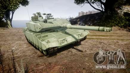 Leopard 2A7 GR Green pour GTA 4