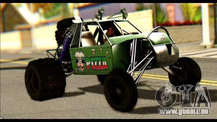 Buggy Fireball from Fireburst pour GTA San Andreas