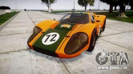 Ford GT40 Mark IV 1967 PJ Mudino 72 pour GTA 4