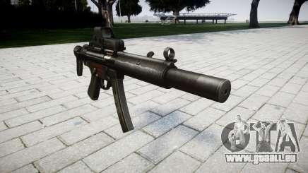 Gun MP5SD EOTHS CS für GTA 4
