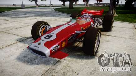 Lotus 49 1967 red pour GTA 4