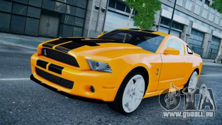 Ford Shelby Mustang GT500 2011 v1.0 pour GTA 4
