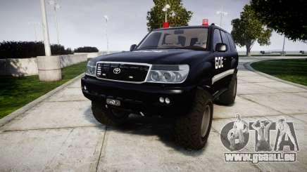 Toyota Land Cruiser 100 GOE [ELS] pour GTA 4