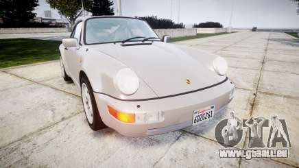 Porsche 911 (964) Coupe pour GTA 4