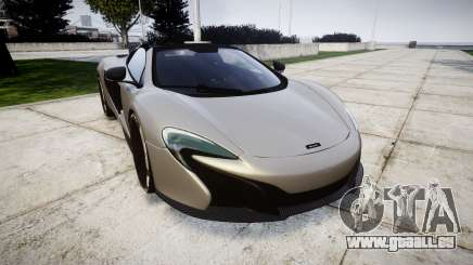 McLaren 650S Spider 2014 [EPM] v2.0 pour GTA 4