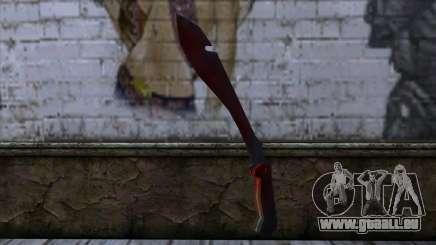 Bloody Machete from Far Cry für GTA San Andreas