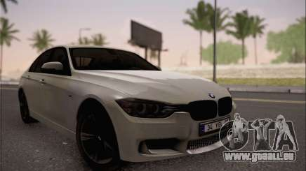 BMW F30 320d pour GTA San Andreas