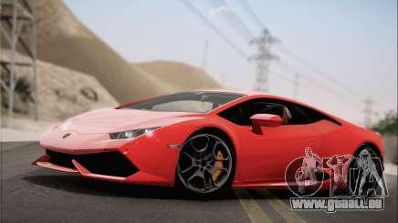 Lamborghini Huracan LP610-4 2015 Rim pour GTA San Andreas