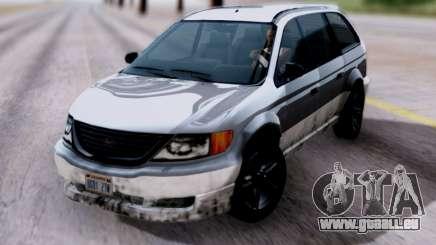 GTA V Minivan für GTA San Andreas