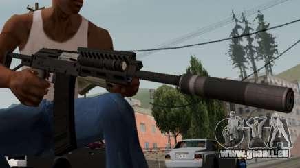 Heavy Shotgun GTA 5 (1.17 update) für GTA San Andreas