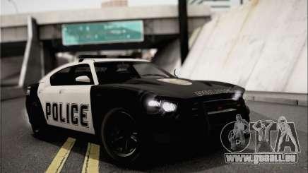 Bravado Buffalo S Police Edition (IVF) für GTA San Andreas