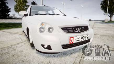 ВАЗ-Lada 2170 Priora Dubaï pour GTA 4