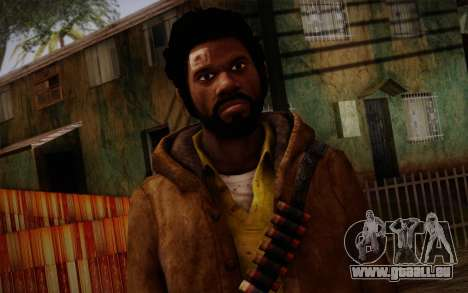 Louis from Left 4 Dead Beta für GTA San Andreas dritten Screenshot