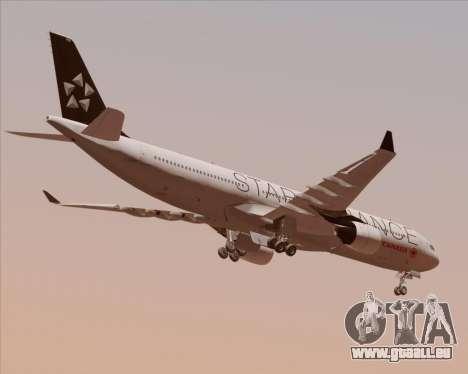 Airbus A330-300 Air Canada Star Alliance Livery für GTA San Andreas rechten Ansicht