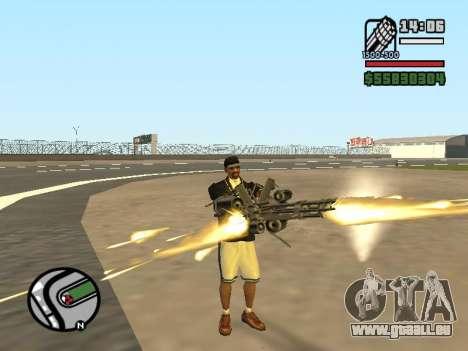 La double propriété de toutes les armes pour GTA San Andreas cinquième écran