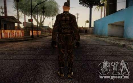 Soldier Skin 4 pour GTA San Andreas deuxième écran