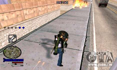 C-HUD Normal für GTA San Andreas