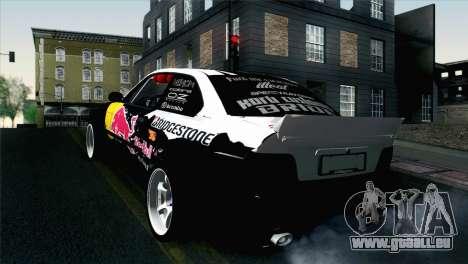BMW M3 E36 Bridgestone v2 pour GTA San Andreas laissé vue