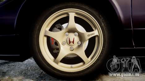 Honda NSX-R NA1 1992 [EPM] für GTA 4 Rückansicht