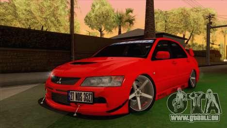 Mitsubishi Lancer Evolution VIII MR pour GTA San Andreas