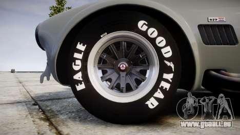 AC Cobra 427 PJ1 für GTA 4 Rückansicht