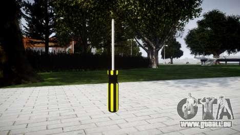 Schraubendreher für GTA 4 Sekunden Bildschirm