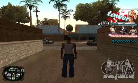 C-HUD Tawer GTA 5 für GTA San Andreas