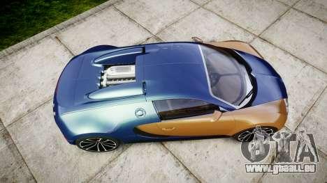 Bugatti Veyron 16.4 v2.0 für GTA 4 rechte Ansicht
