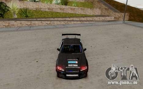 Nissan Skyline GT-R 34 Toyo Tires für GTA San Andreas linke Ansicht