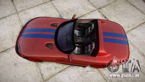Dodge Viper RT-10 1992 für GTA 4 rechte Ansicht