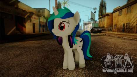 Vinyl Scratch from My Little Pony pour GTA San Andreas