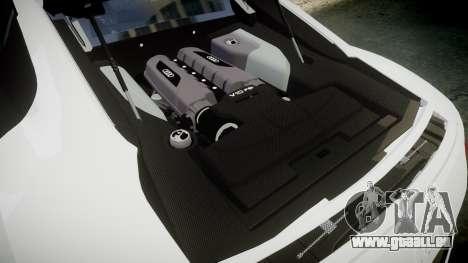 Audi R8 V10 Plus 2014 pour GTA 4 est un côté