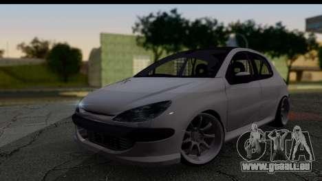 Peugeot 206 Drift JDM Style pour GTA San Andreas