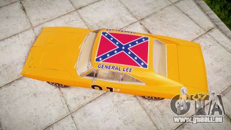 Dodge Charger RT 1969 General Lee für GTA 4 rechte Ansicht