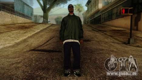 New Ryder Skin pour GTA San Andreas