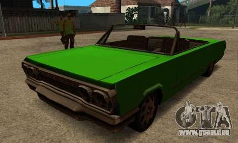 Beta Savanna pour GTA San Andreas laissé vue