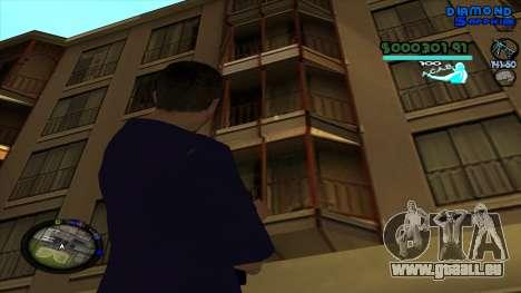 C-HUD Lopez pour GTA San Andreas quatrième écran