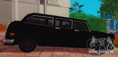 Cabbie Wagon pour GTA San Andreas laissé vue