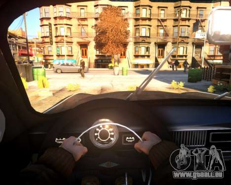 Moskwitsch 407 für GTA 4 Rückansicht