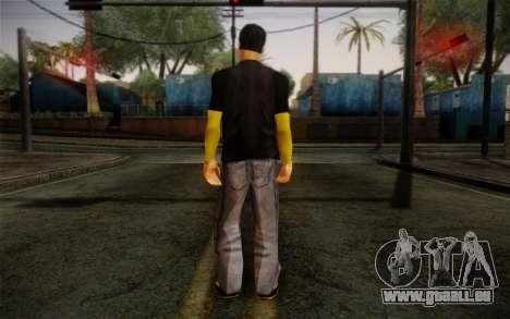 Ginos Ped 12 pour GTA San Andreas deuxième écran