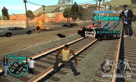 C-HUD Aztec El Corona für GTA San Andreas her Screenshot