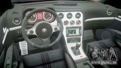 Alfa Romeo 159 TI V6 JTS pour GTA 4 Vue arrière