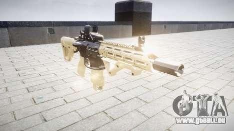Gewehr AR-15 CQB Ziel typeeotech für GTA 4