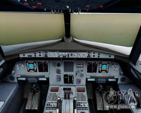 Airbus A320-200 Philippines Airlines für GTA San Andreas Innen