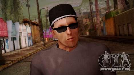 Gedimas Wmybar Skin HD pour GTA San Andreas troisième écran