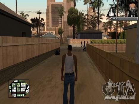 Marusya C-HUD pour GTA San Andreas