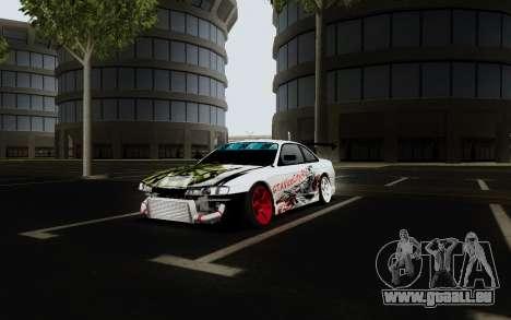Nissan Silvia S14 VCDT V2.0 pour GTA San Andreas vue de droite