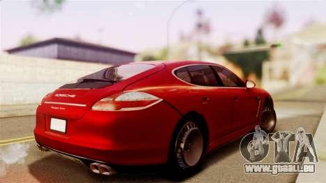 Porsche Panamera für GTA San Andreas linke Ansicht