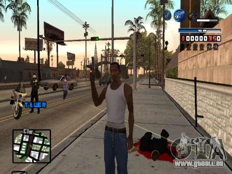 C-HUD Fantastik pour GTA San Andreas deuxième écran