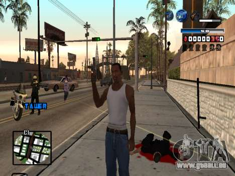 C-HUD Fantastik für GTA San Andreas zweiten Screenshot